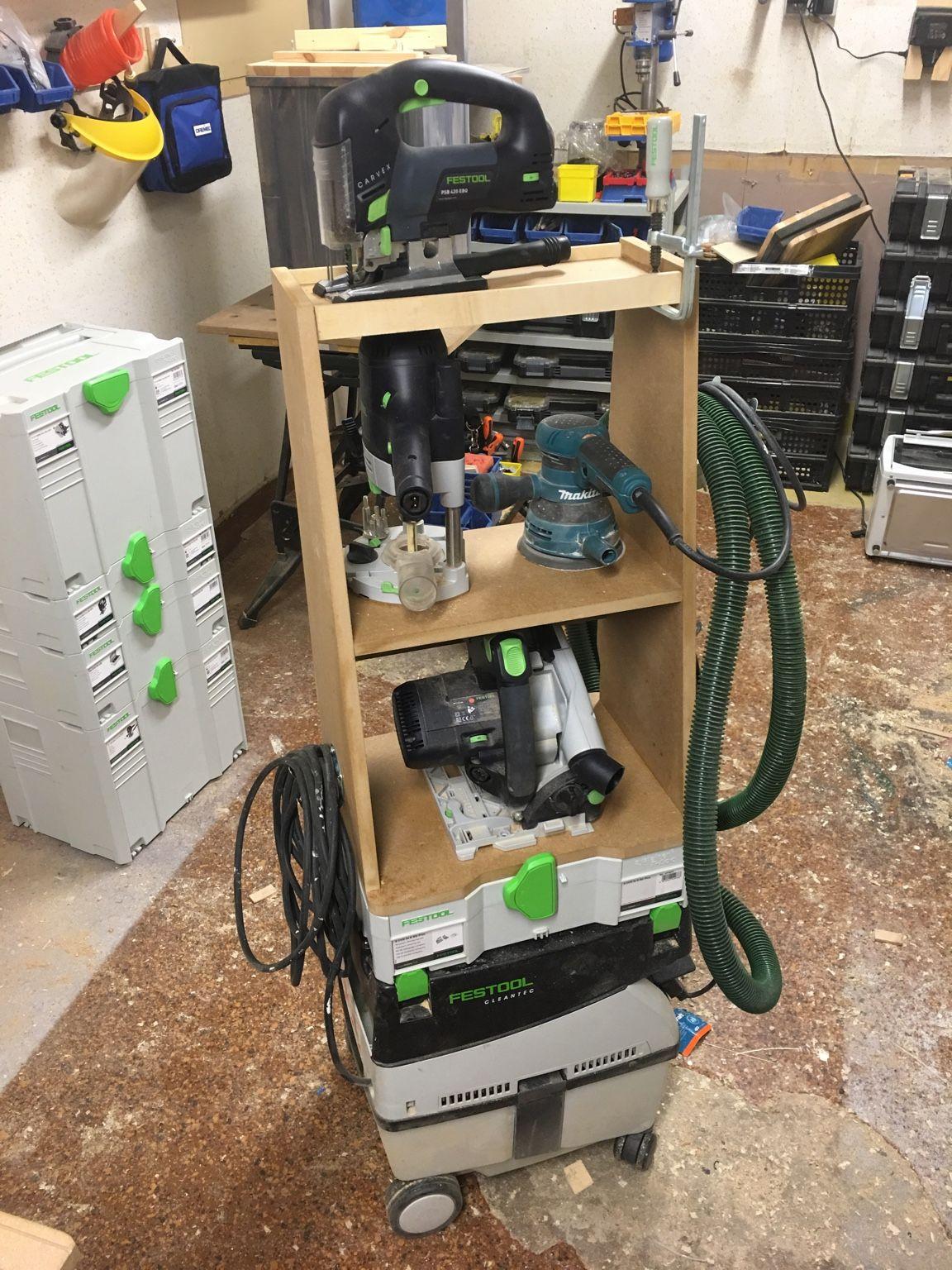 My Midi Workcenter Festool Tool Cart Festool Tools