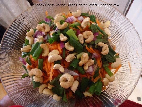 First Place 4 Health Recipe : Asian Chicken Salad (Serves 4)
