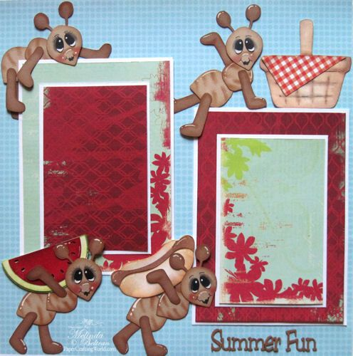** My Paper Crafting.com **: Melin's Cricut Critters-Piecings