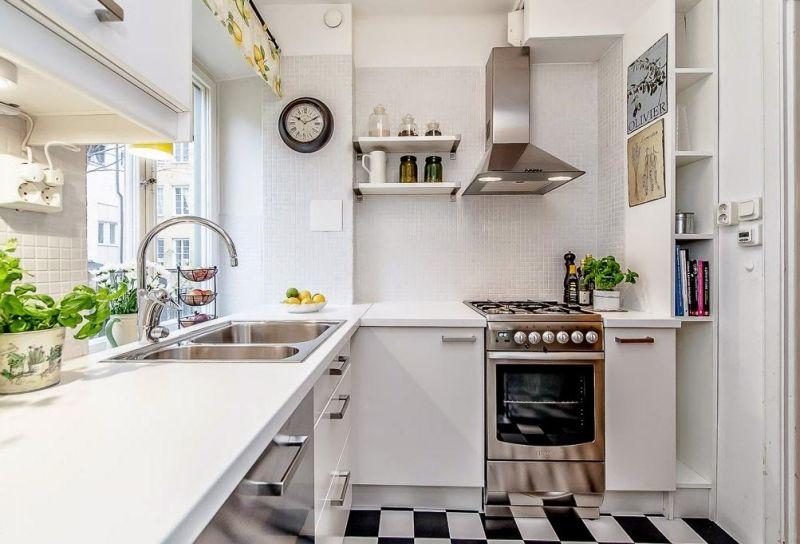 Kleine Küchen einrichten \u2013 Tipps und Ideen zum Grundriss Cocinas - kleine küchen ideen