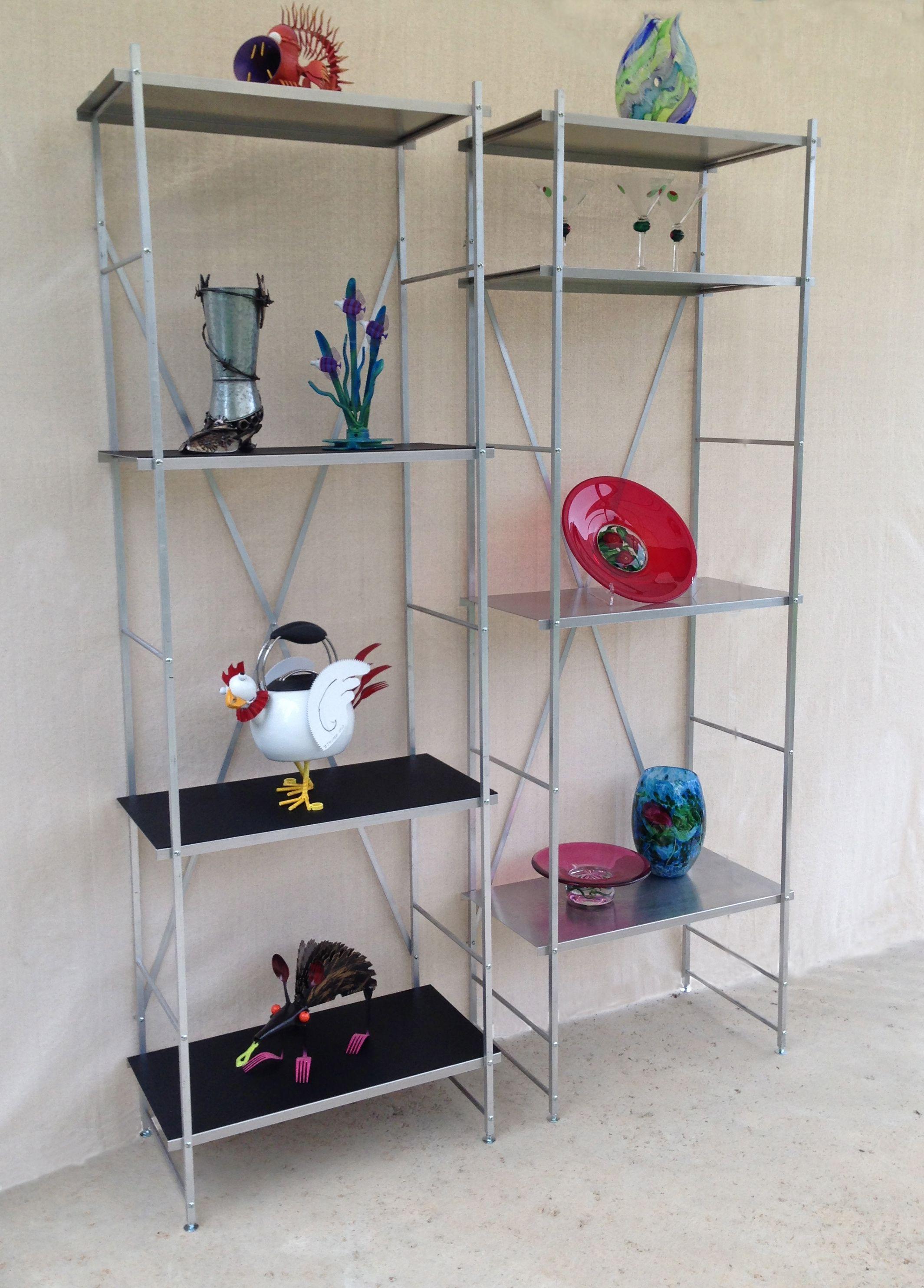 convenience bookcases l collapsible bookcase metal folding amazoncom home casual bookshelf concepts shelf stackable