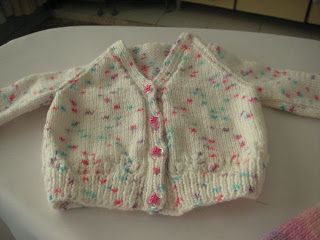 If you're a novice knitter this is a great starter, a very easy basic cardigan. Easy and quickto knitwill make an ideal gift for a ne...