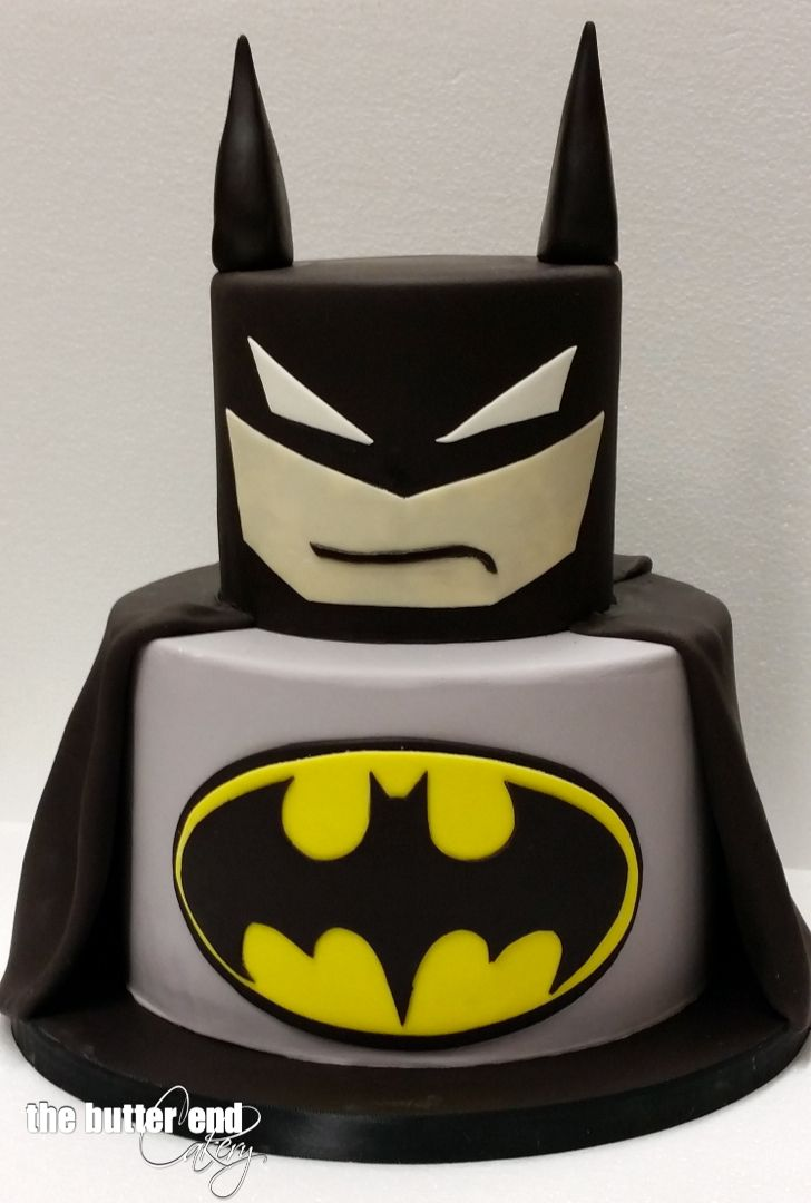 Batman cake by The Butter End Cakery