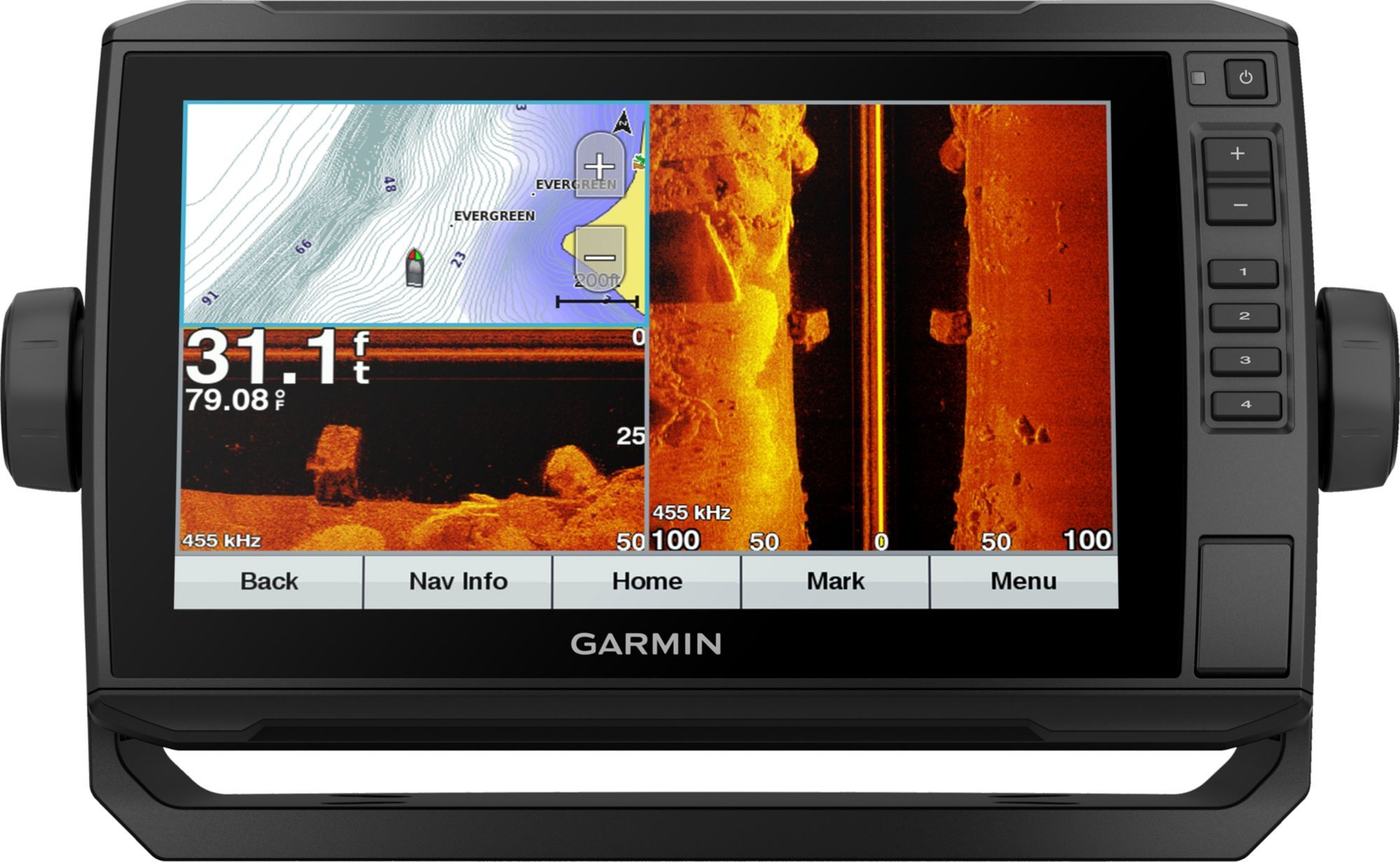 Garmin echoMAP Plus 93sv Lakevü G3 GPS Fish Finder (010