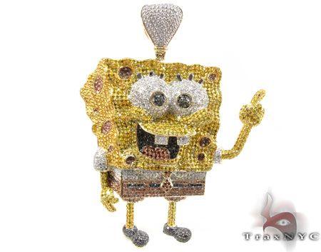 c106b83ced681 WOW! A Diamond Sponge Bob!! I realize it is supposedly a