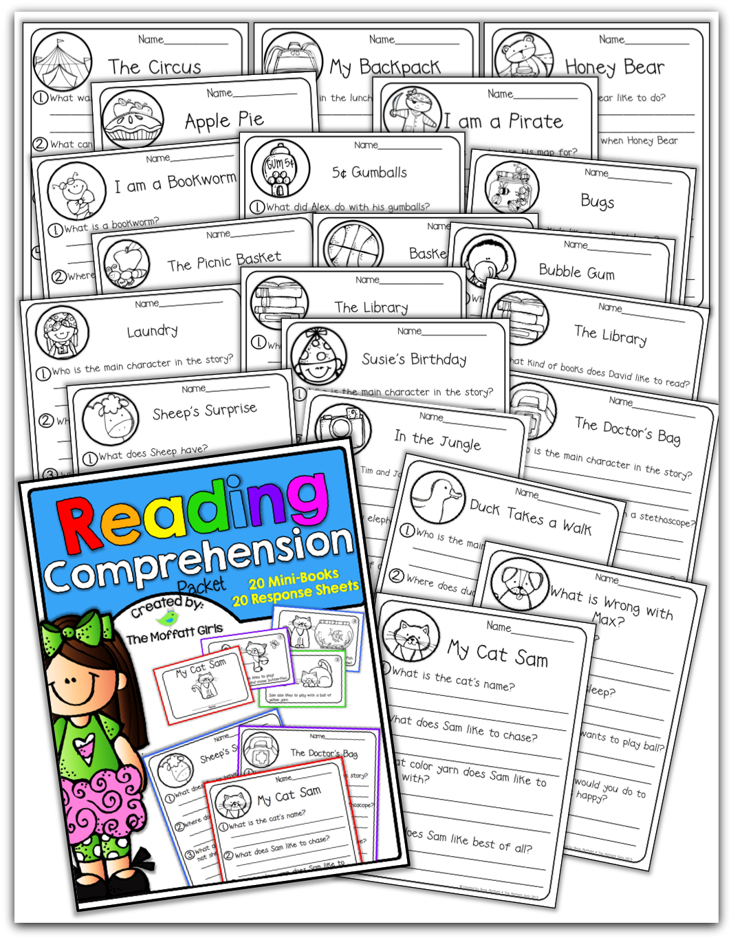 Reading Comprehension Packet Perfect For Fluency And Comprehension Checks