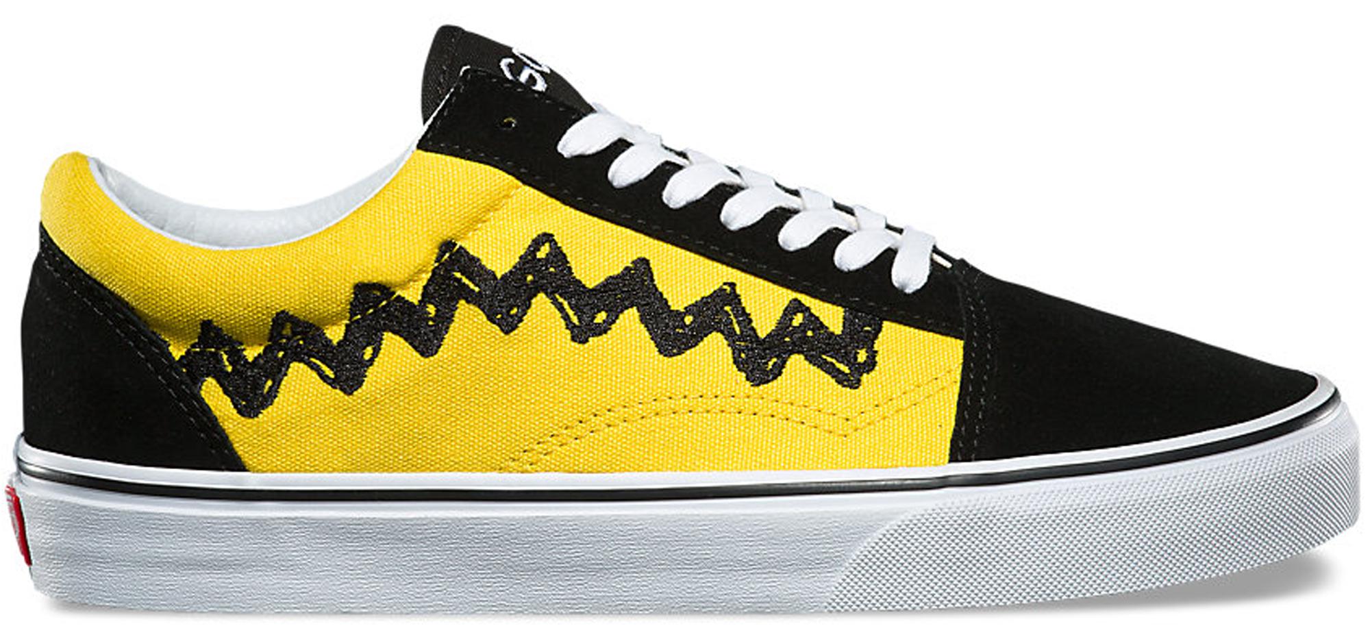 Vans Old Skool Peanuts Charlie Brown in 2020 | Vans old