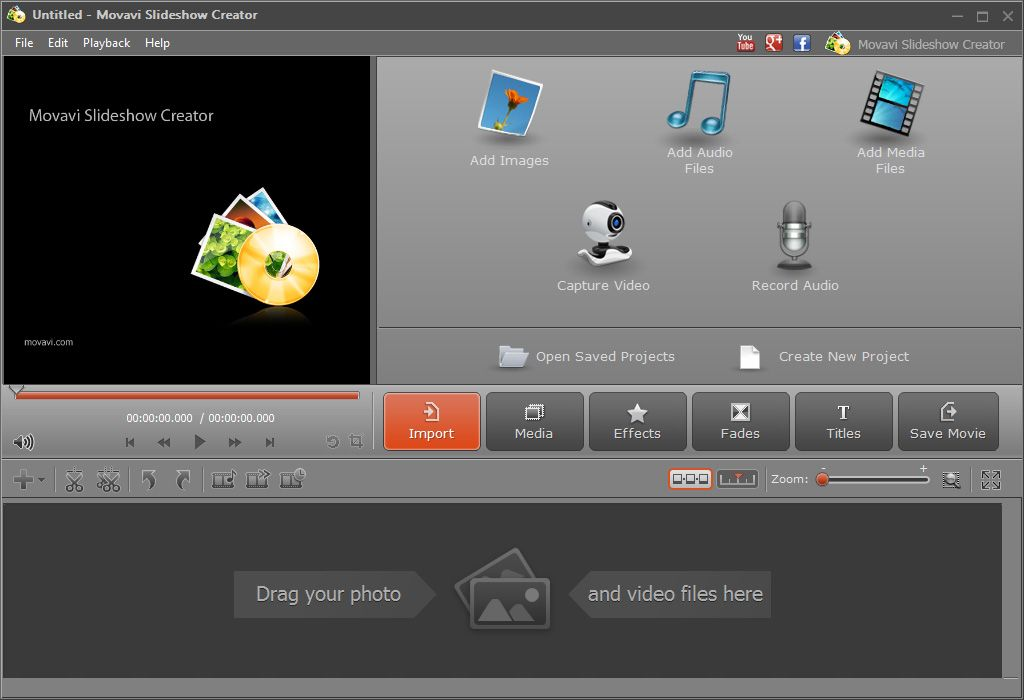 Make Cool Slideshows With Music And Pictures With Movavi Slideshow Maker