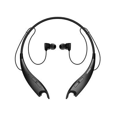 ecbd659af70 Mpow Jaws V4.1 Bluetooth Headphones Wireless Neckband Headset Stereo ...
