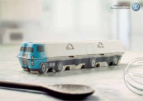 VW Trucks: Eggs | Ads of the World™