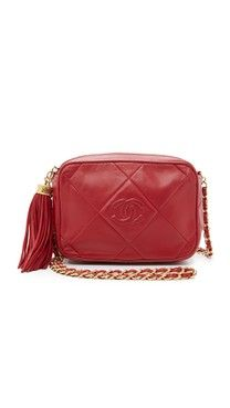 bc437e8daf27 What Goes Around Comes Around Chanel CC Camera Bag (Previously Owned)