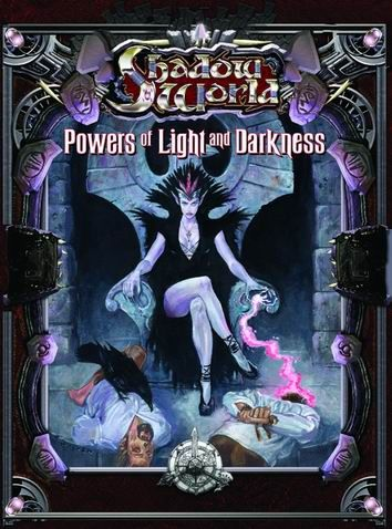 Product Line: Shadow World  Product Edition: SW  Product Name: Powers of Light and Darkness  Product Type: Sourcebook  Author: Terry Amthor  Stock #: 6402  ISBN: 1-55806-597-0  Publisher: ICE  Cover Price: $22.00  Page Count: 128  Format: Softcover  Release Date: 04-Aug  Language: English