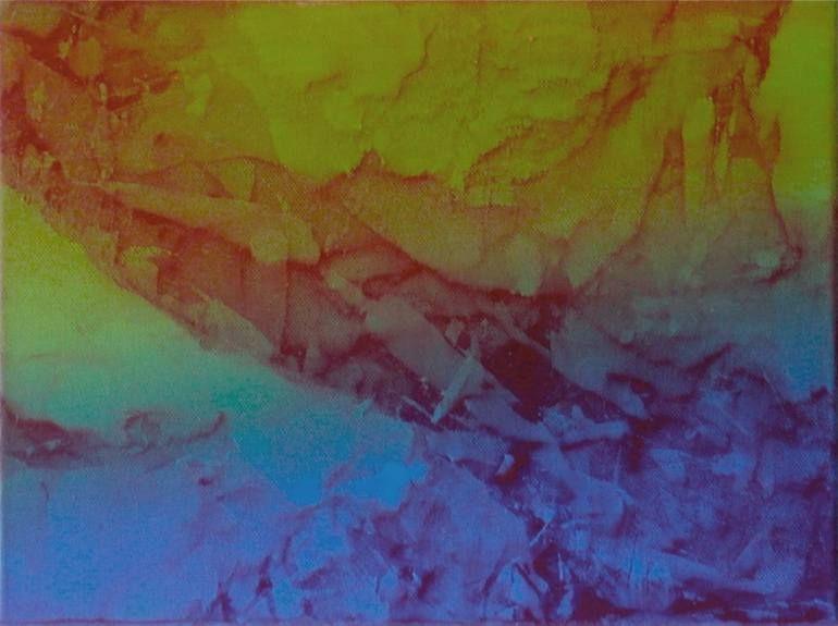 "Saatchi Art Artist Johann Nußbächer; Painting, ""reale fiction k 18"" #art"