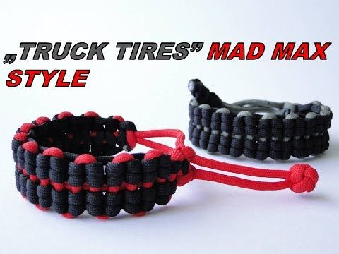 How To Make A Mated Half Hitch Paracord Survival Bracelet Mad Max