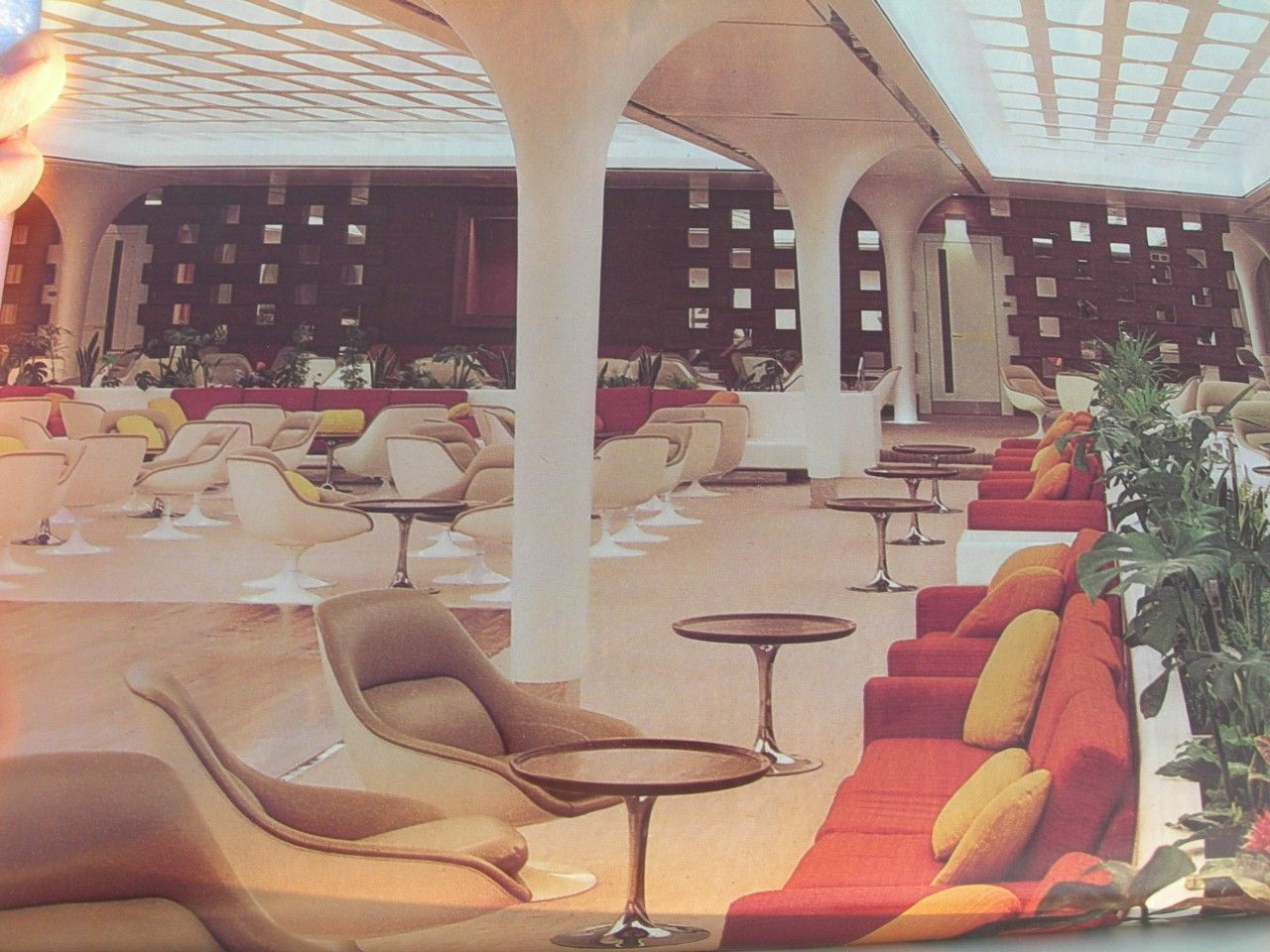 Queens Room Qe2 Original Furniture A Sublime Space
