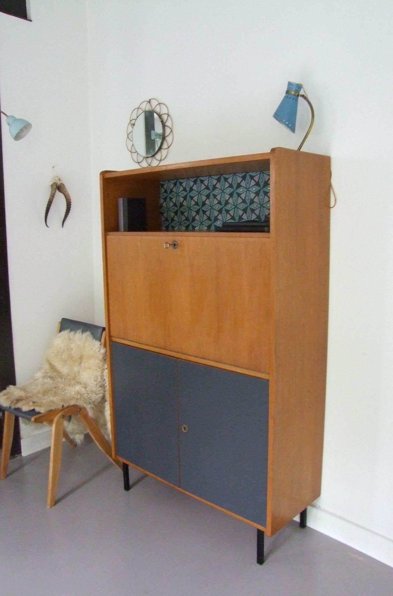 afficher l 39 image d 39 origine secretaire meuble vintage. Black Bedroom Furniture Sets. Home Design Ideas