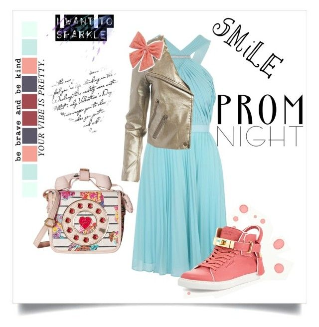 """""""Prom! """" by krgood7 ❤ liked on Polyvore featuring Jane Norman, Sans Souci, BUSCEMI, Betsey Johnson and Decree"""