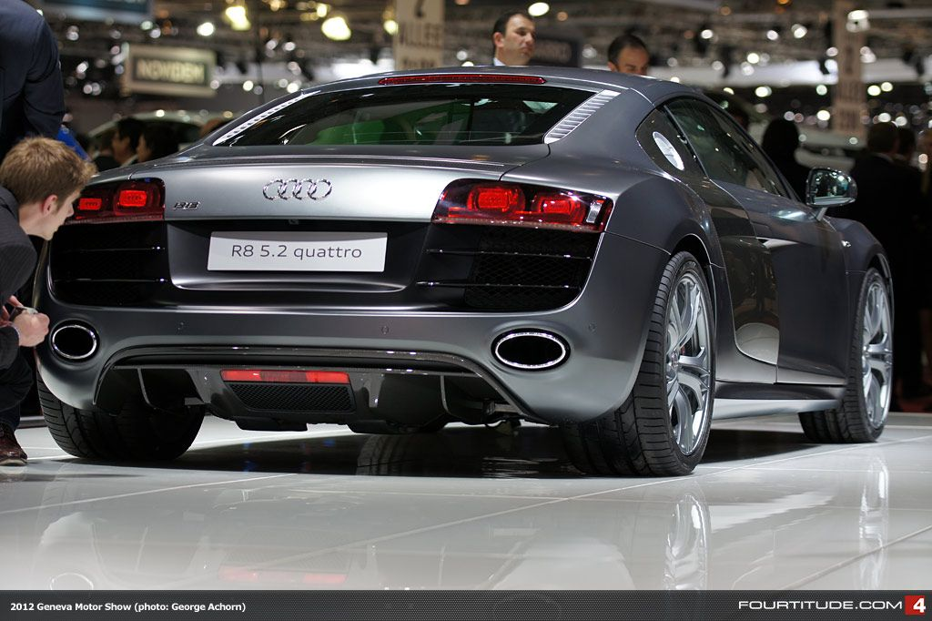 Audi Exclusive Audi R8 V10 With Daytona Grey Matte Paint Wantanr8