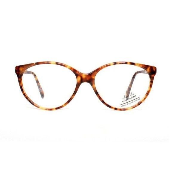 Vintage brown tortoise Cateye Eyeglasses - Leo de Gennaro