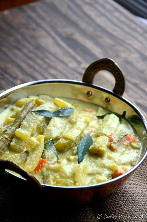 Avial kerala mixed vegetable curry with coconut and yogurt sauce avial kerala mixed vegetable curry with coconut and yogurt sauce a kerala sadya recipe forumfinder Choice Image