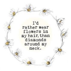 Flower Child Quotes