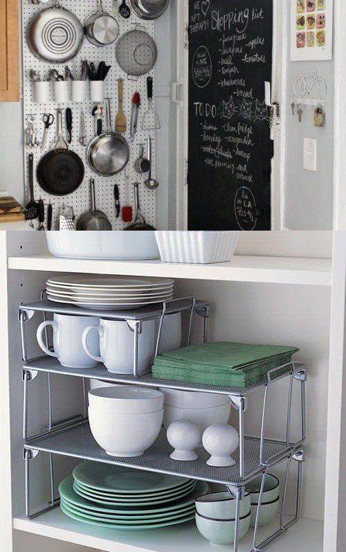 Ideas para organizar una cocina peque a http www for Ideas de muebles para cocinas pequenas