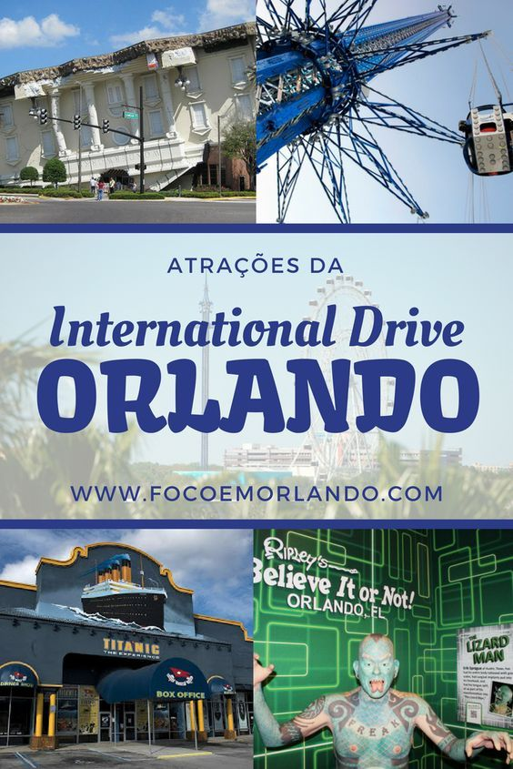 As atrações da International Drive Hotels near disney