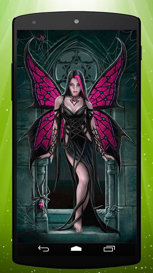 Gothic Fairy Screensavers Gothic Fairy Live Wallpaper