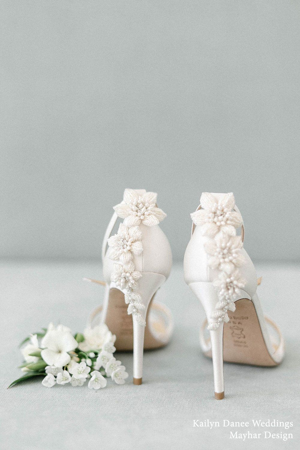 Ivory Pearl Beads Stiletto Wedding Shoes Wedding Shoes Heels Wedding Heels Ivory Wedding Shoes