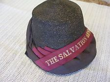 VINTAGE SALVATION ARMY WOMEN S HAT 20 S  30 S  39a5cfc5cbc