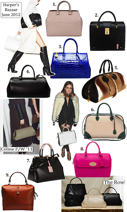 Don't u just adore the Cobalt Tom Ford bag... a great pop of color! Doctors-Bags.png (445×743)