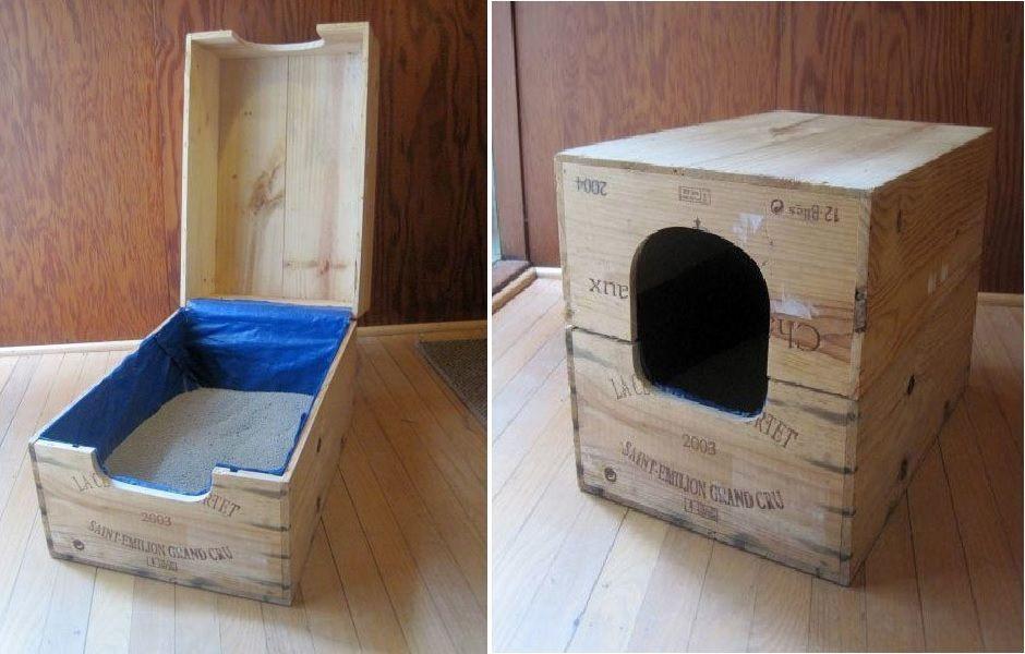 Top 10 Ingenious Ways To Hide Your Cat S Litter Box Bunny Litter Box Idea Litter Box Furniture Cat Litter Box Diy Diy Litter Box