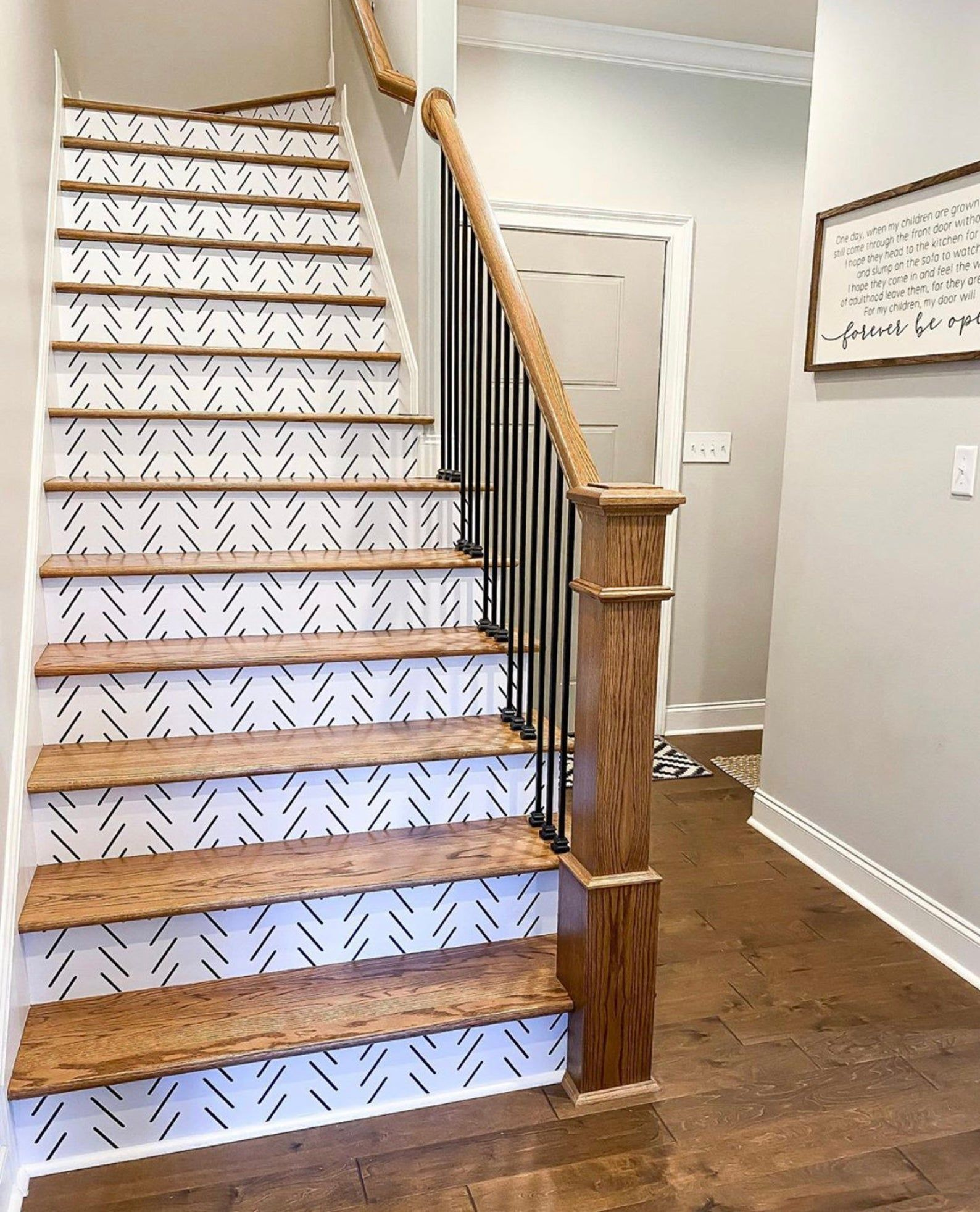 Stair Riser Decals Peel and stick Removable sticke