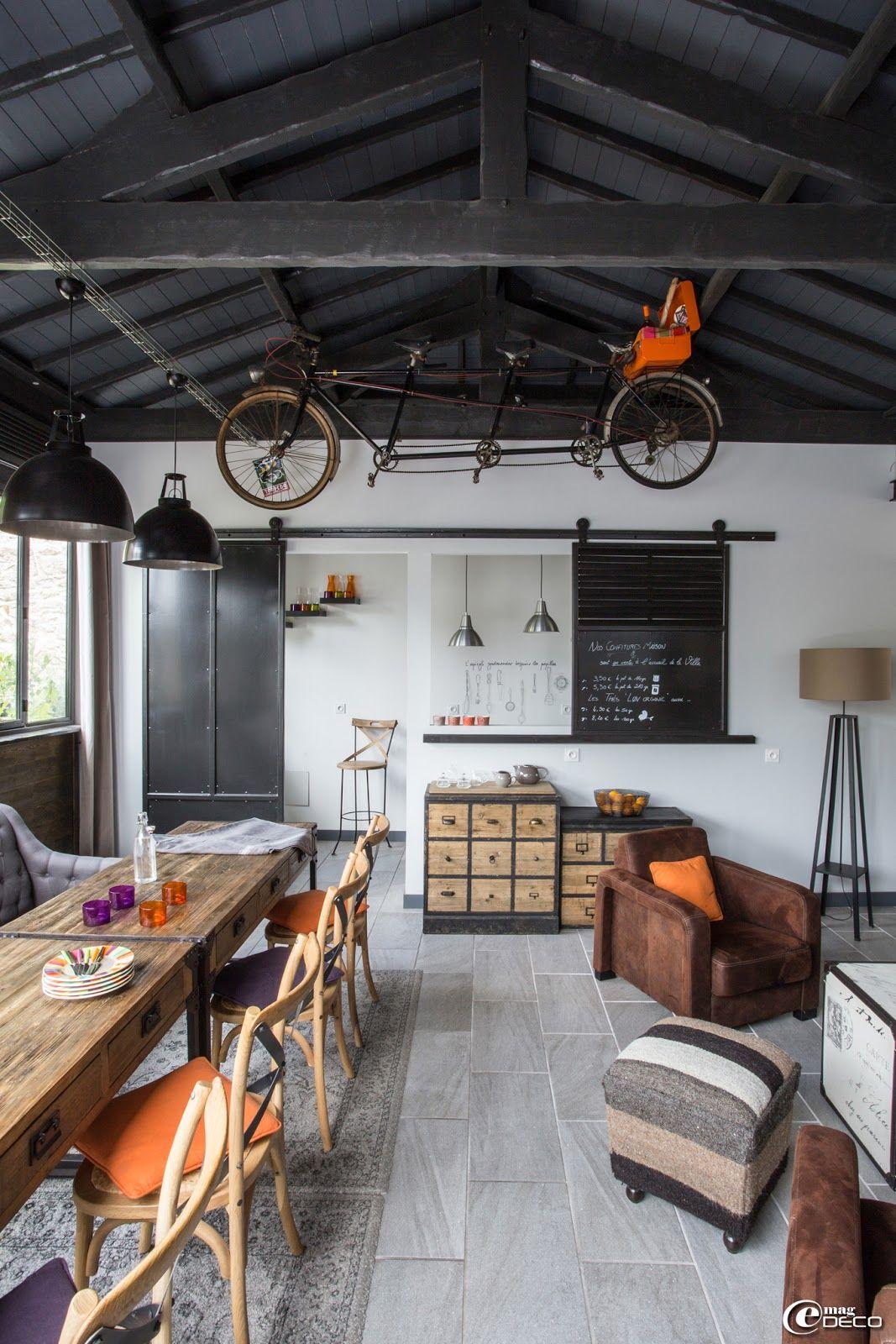 e magdeco magazine de d coration escalier d coration industrielle pinterest deco esprit. Black Bedroom Furniture Sets. Home Design Ideas