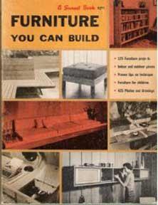 1960s mid century modern furniture you can build design plans book rh pinterest com