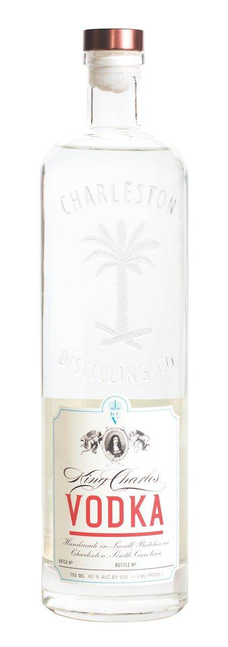 """Résultat de recherche d'images pour """"Charleston Distilling Company King Charles Vodka"""""""