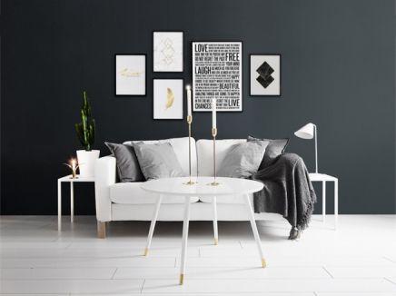 Bilderwand, Wohnzimmer, Esszimmer, Dekoration, Plakatwand, Zimmereinrichtung,  Esstisch, Haus, Nebliger Wald