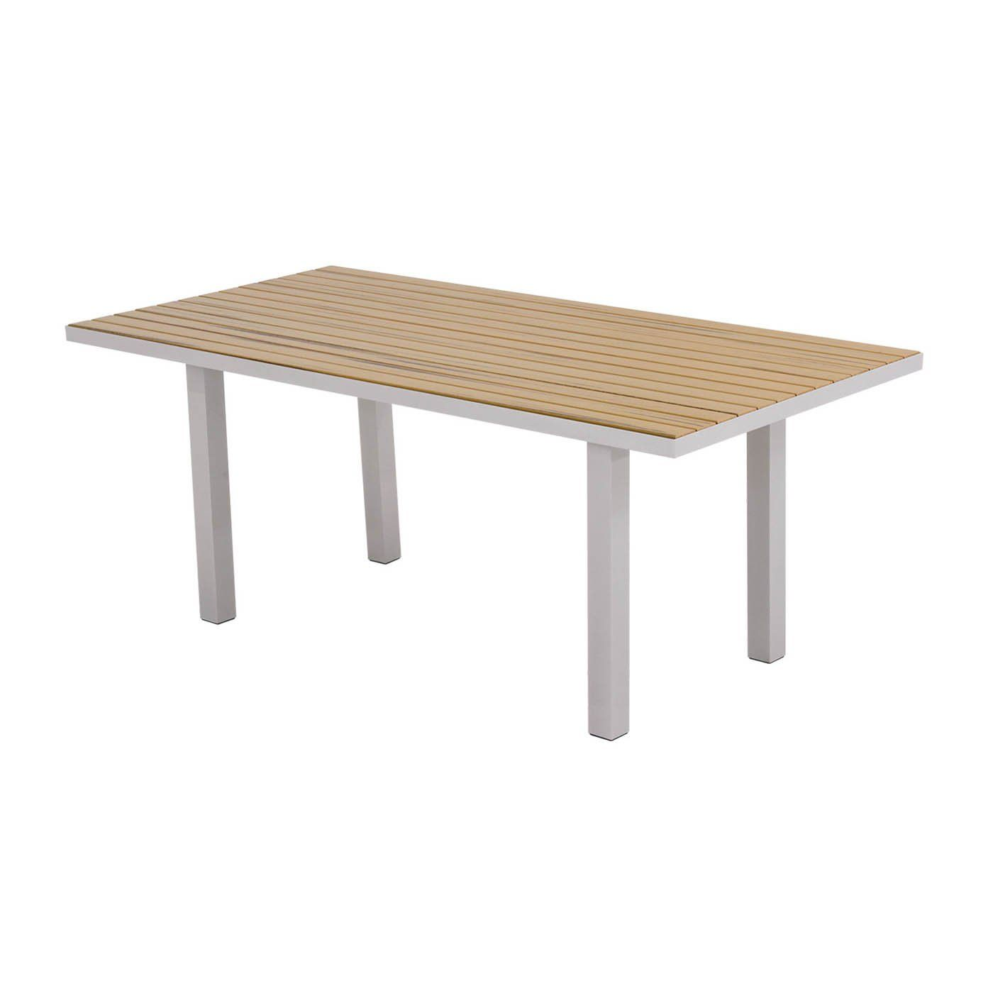 POLYWOOD® AT3672 Euro Rectangular Outdoor Dining Table