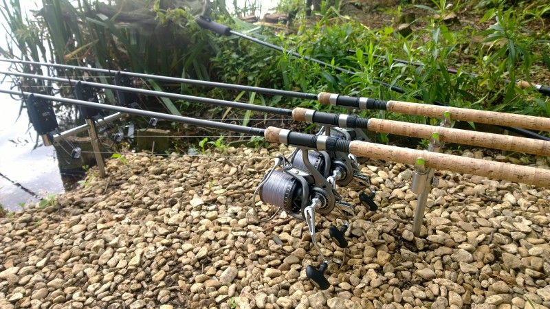 Check Out 4 Rod Carp Set Up Tackletrader Fly Fishing Tips Carp Fishing Tips Fish