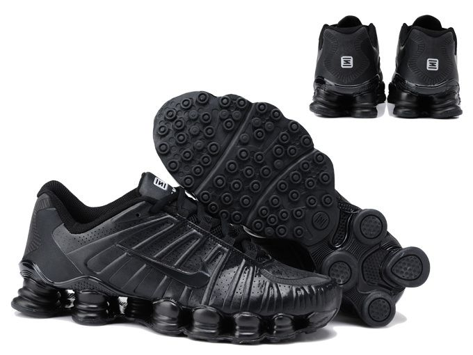best sneakers c5785 2d07c Nike Shox TLX Mens Running Shoes All Black | Shoes | Nike shox shoes ...