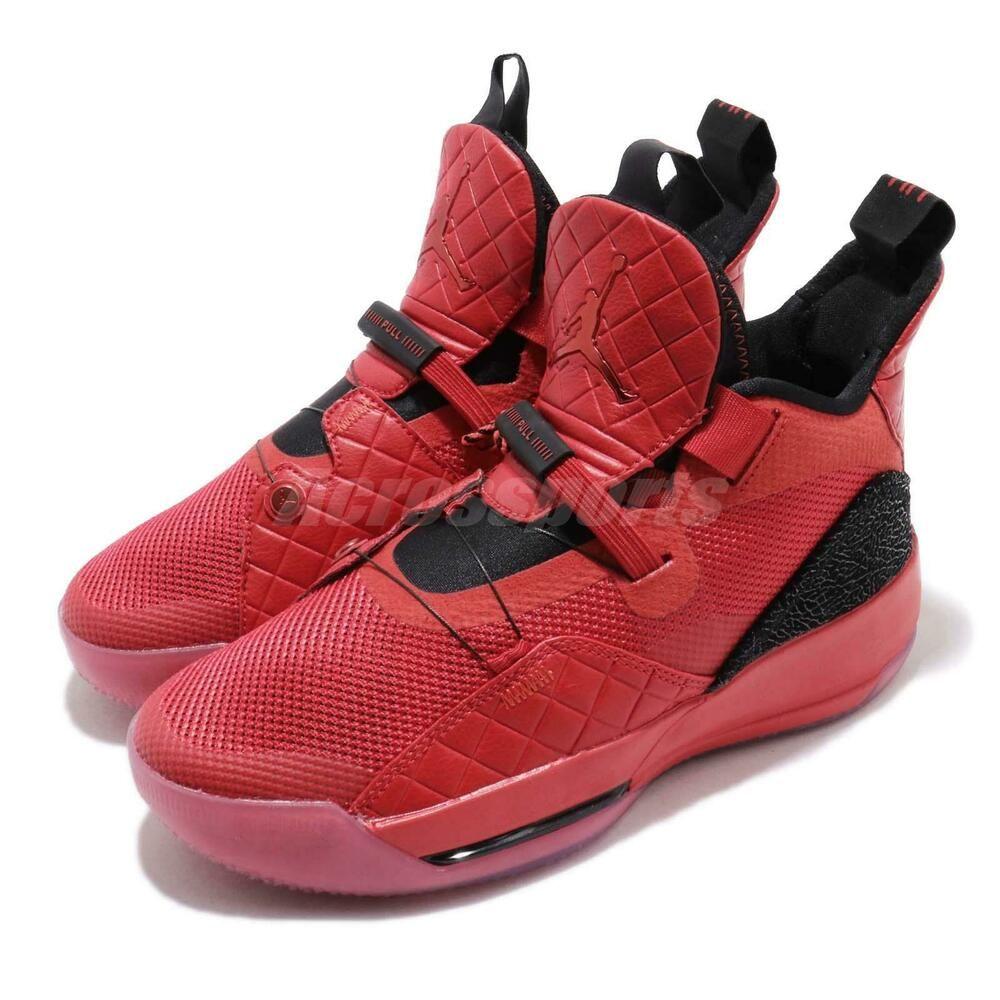 Sponsored)eBay Nike Air Jordan XXXIII GS 33 AJ33 Retro Red