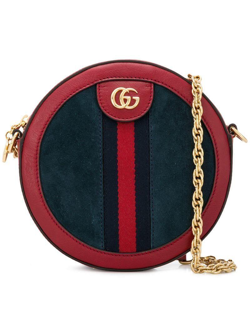 670dbc7a381b Women's Blue Ophidia Mini Round Bag | shoulder bags | Bags, Gucci ...