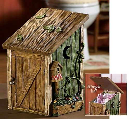 outhouse decor for bathrooms | all categories rustic home decor ...
