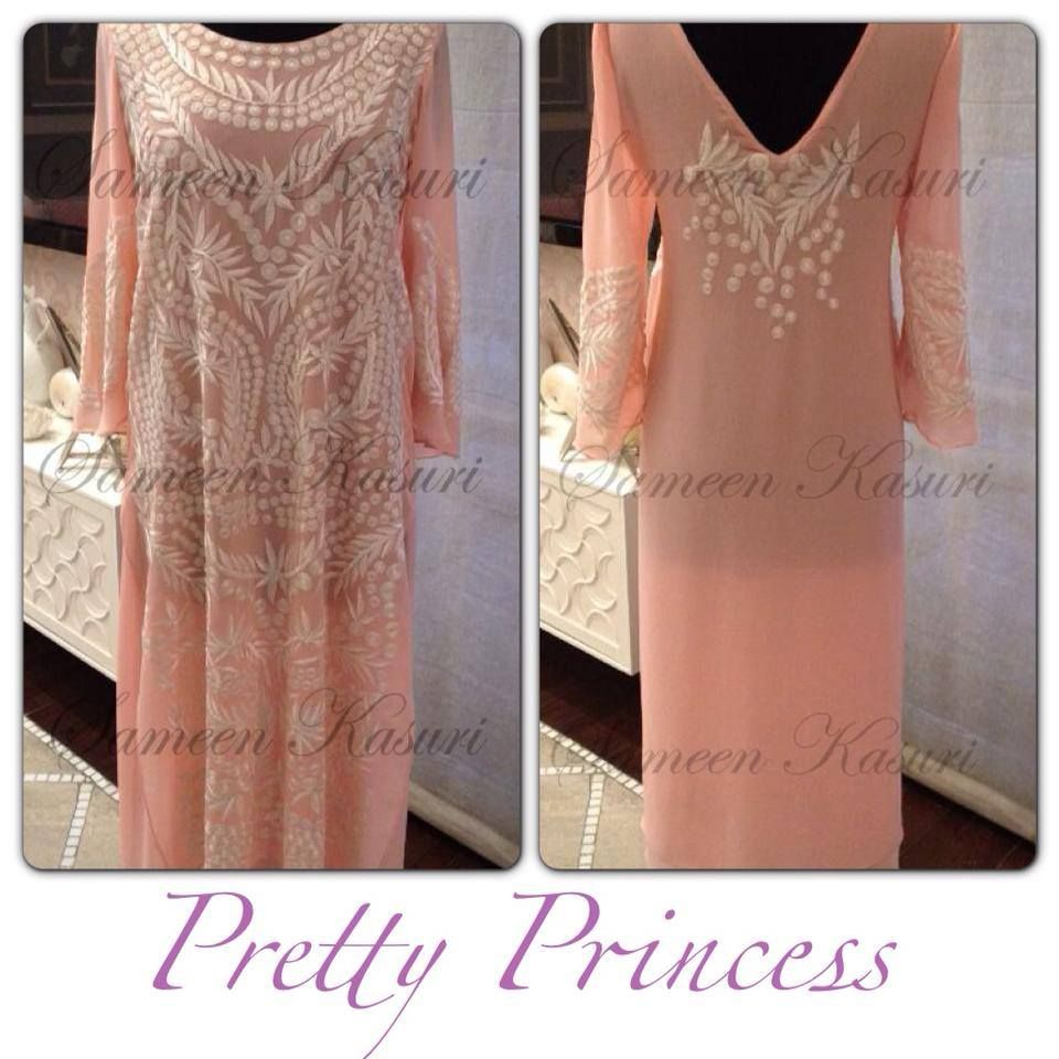 Pretty Princess Pink Dress By Sameen Kasuri Pakistan Fashion Fashion Pink Dress