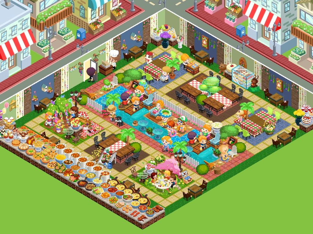 Restaurant Story App Game 2015 Story Games Game Design Game App
