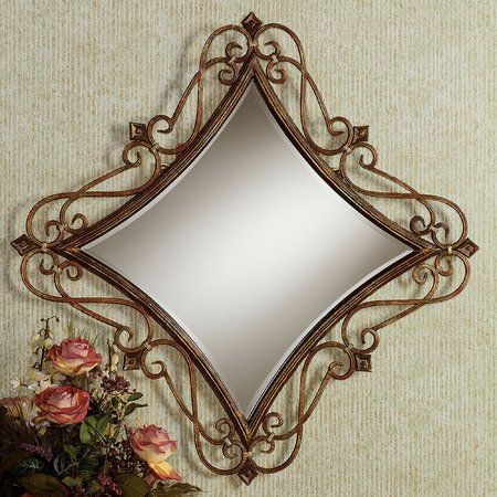 Marvelous I Like The Curved Edges Of This Diamond Shaped Mirror Download Free Architecture Designs Osuribritishbridgeorg