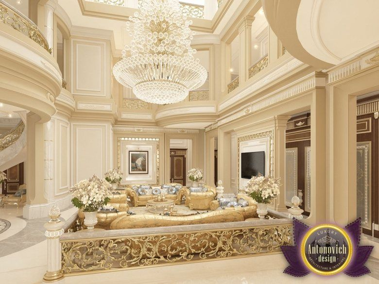 Villa design in abu dhabi from luxury antonovich design Home interior design abu dhabi