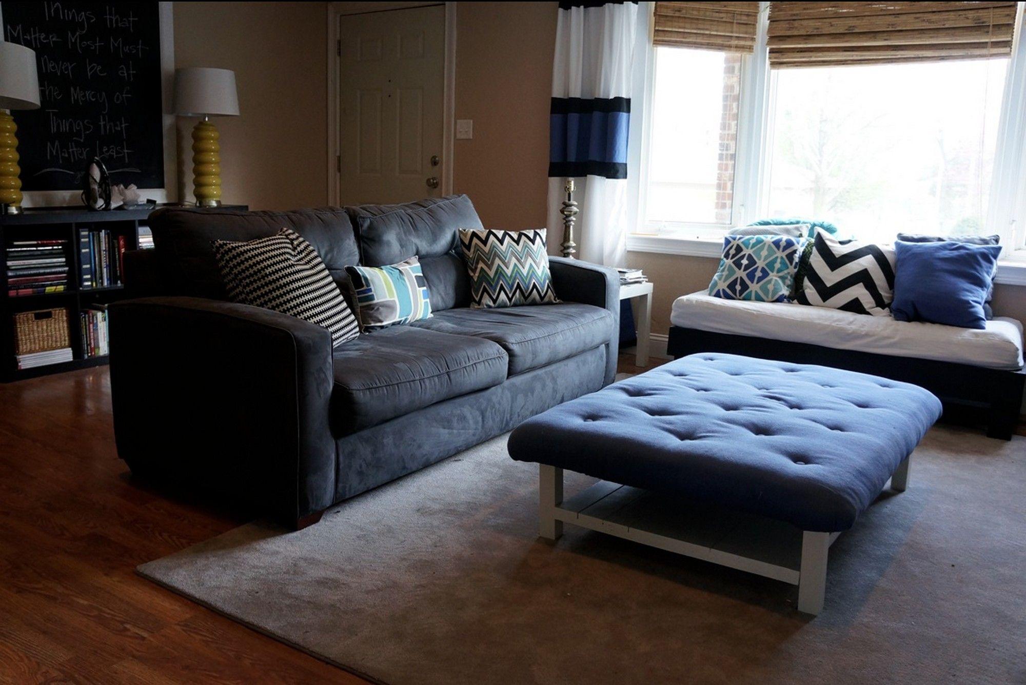 ottoman coffee table modern | Minimalist Home Design | Pinterest