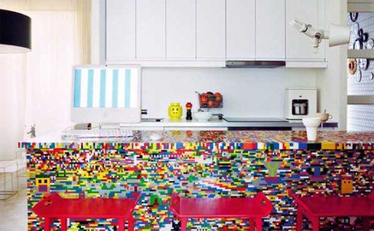 Incredible Kitchen Renovated With Legos Cool Designs For Home