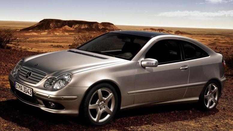 Mercedes C klasa Sports Coupe 2001. 2008. Polovnjak